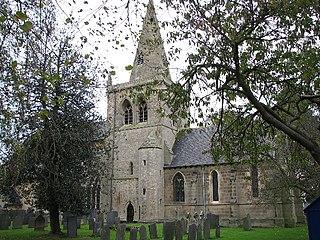 Church of St John of Beverley, Whatton Church