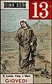 Saint Lucy. Colour photogravure, 1898. Wellcome V0032548.jpg
