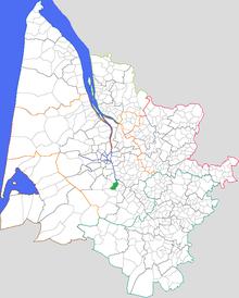 Saint Médard d'Eyrans — Wikipédia