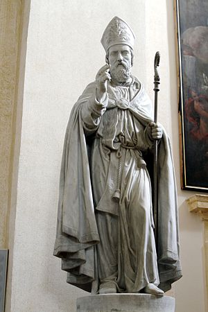 Rufinus of Assisi - Saint Rufinus in the Cathedral of San Rufino