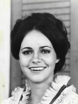 L'actriz estatounitense Sally Field en 1971.