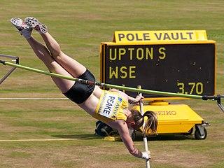 Sally Peake British pole vaulter