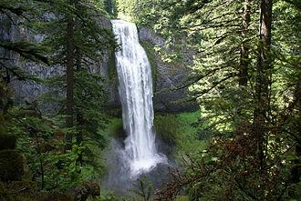 Salt Creek Falls - Image: Salt Creek Falls 1