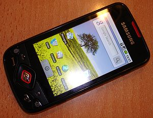 Image of Samsung i5700 Galaxy Spica mobile phone