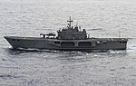 San Marco (L9893) underway in the Mediterranean Sea on 16 June 2016