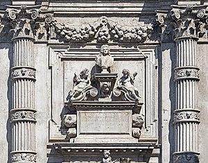 San Moisè, Venice - Image: San Moise (Venice) Cenotafio di Vincenzo Fini di Heinrich Meyring