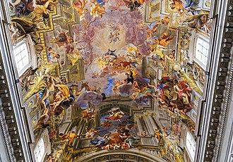 Sant'Ignazio, Rome - Image: San ignazio pozzo rome 999i 90002