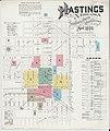 Sanborn Fire Insurance Map from Hastings, Adams County, Nebraska. LOC sanborn05196 004-1.jpg