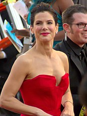 A photograph of Bullock attending the 83rd Academy Awards in 2011