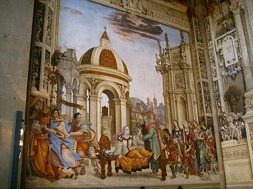 Santa maria novella, cappella di filippo strozzi, affreschi di filippino lippi 1
