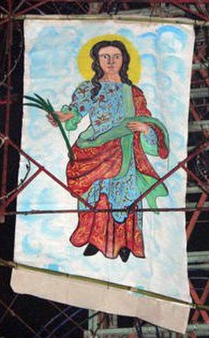Saint Prisca - Image: Santa prisca