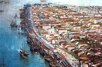 Port of Santos - The Port of Santos in the 1900s