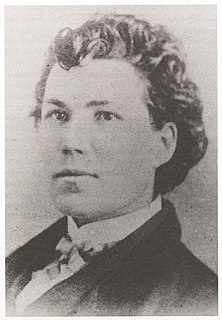 Sarah Emma Edmonds Canadian-born woman who is known for serving as a man with the Union Army during the American Civil War