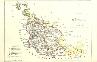 Satara district - Satara 1896