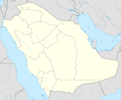 Saudi Arabia location map