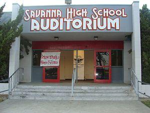 Savanna High School - Image: Savanna High School