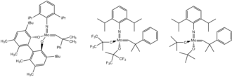 Olefin metathesis - Commercially available schrock catalysts
