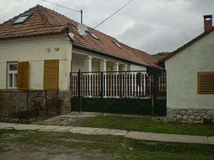 Danube Swabians - Traditional Swabian house in Hungary