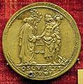 Scuola romana sotto giulio II, medaglia di giulio II, verso con giustizia e abbondanza (bronzo).JPG