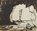 Sea Caves, Slochd Mhaol Doraidh, Islay by John Francis Campbell.jpg