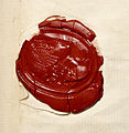 Seal from letter of Lord Nelson, 1801 - BL Egerton MS 1614.jpg