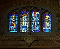 Seattle - Blessed Sacrament - stained glass - St. Agnes of Montepulciano.jpg