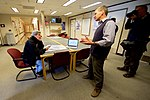 Secretary Kerry Speaks With a Scientist who Tracks the Western Antarctic ice Shelf at Crary Labs at McMurdo Station (30812064292).jpg