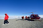 Secretary Kerry Walked Away From a National Science Foundation Helicopter After it Landed at Marble Point, Antarctica (30279238414).jpg