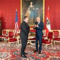 Secretary of State Michael R. Pompeo meets with Austrian President Alexander Van der Bellen (50225484858).jpg