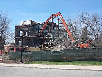 Seeley G. Mudd Chemistry Building - Image: Seeley G. Mudd Chemistry Building deconstruction, April 2016