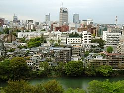 Sendai city - Hirose river 2005.jpg