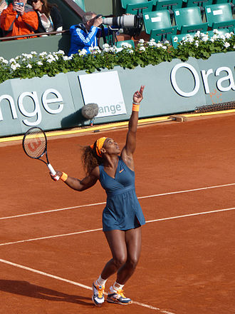 2013 WTA Tour Championships - Serena Williams won her second French Open title in 2013.