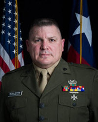 Texas State Guard - Texas State Guard Senior Enlisted Advisor Command Sergeant Major Bryan Becknel