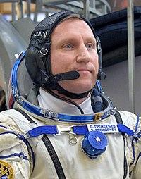 Sergey Prokopyev at the Gagarin Cosmonaut Training Center in Star City.jpg