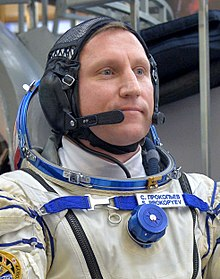 Sergey Prokopyev at the Gagarin Cosmonaut Training Center in Star City.jpg