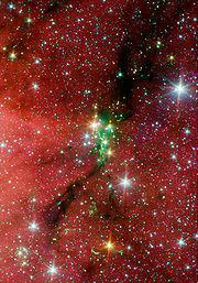 A cluster of new stars called Serpens South