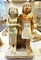 Servant statues, Giza, Egypt, Old Kingdom, Dynasty 5, c. 2477 BC, limestone, pigment - Oriental Institute Museum, University of Chicago - DSC07855.JPG