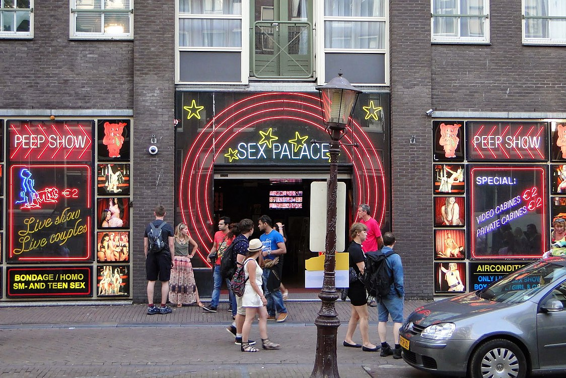 Sex theater in Amsterdam (red light district).JPG