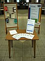 Sexual assault awareness month display (front) (3429874050).jpg
