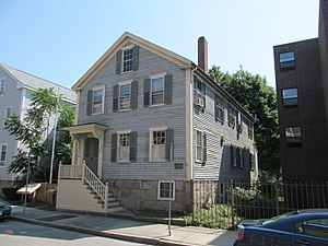 National Register of Historic Places listings in New Bedford, Massachusetts - Image: Sgt. William H. Carney House, New Bedford MA