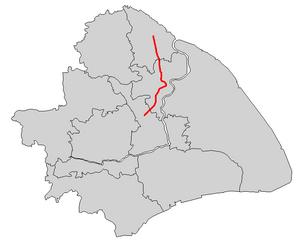 Line 1, Shanghai Metro - Image: Shanghai Metro Line 1 Map