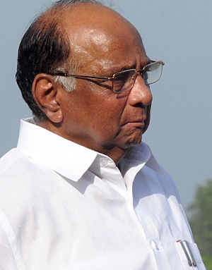 First Manmohan Singh ministry - Image: Sharad Pawar, Minister of Agriculture Crop