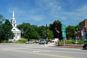 Sharon, Massachusetts - Town center