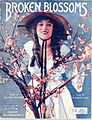 Sheet music cover - BROKEN BLOSSOMS (1919) (variant).jpg