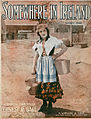 Sheet music cover - SOMEWHERE IN IRELAND (1917).jpg