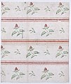 Sheet with overall leaf, flower, and stripe pattern Met DP886440.jpg