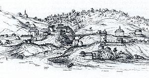 Sherbrooke - Sherbrooke in 1828