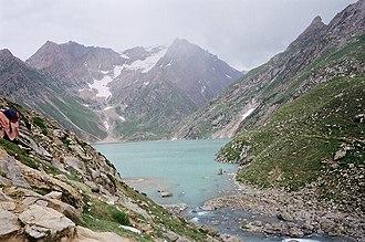 Sheshnag Lake - Image: Sheshnag Lake