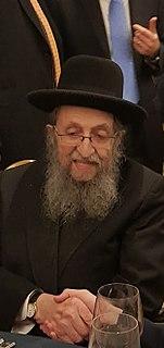 Shmuel Kamenetsky American rabbi.