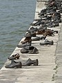 Shoes on the Danube Promenade, 2009 BudapestDSCN3961.jpg